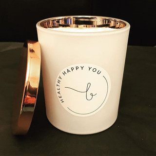 🎼 If You Like Pina Coladas 🍹 CUSTOM matte white, rose gold interior, rose gold lid for _bhealthyhappyyou _berniefaz 🖤