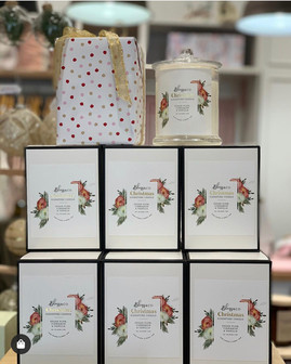 Bliss & Co Christmas Candles