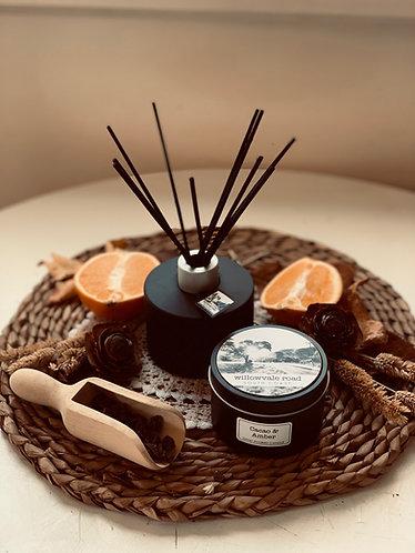 Cacao & Amber Travel Tin