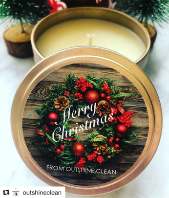 Outshine Clean Christmas Candles