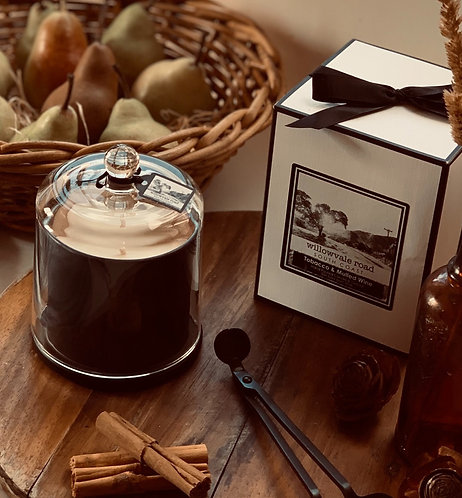Deluxe Boxed Candles with Cloche