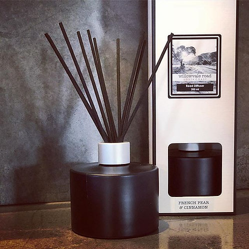 Tobacco & Mulled Wine Diffuser Set