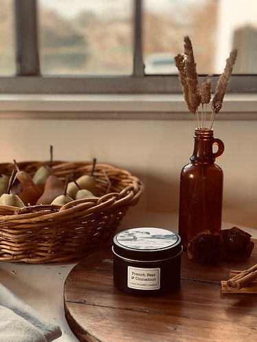French Pear & Cinnamon Travel Tin