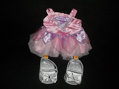 build a Bear Ballerina Dress With Dress up S
