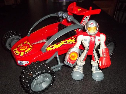 Rescue Hero Dune Buggy with 2003 Action figure