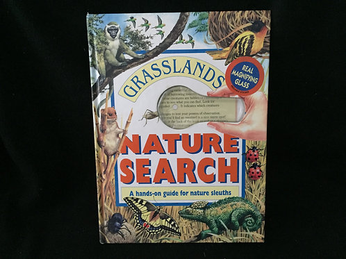Grasslands (Nature Search) Hardcover