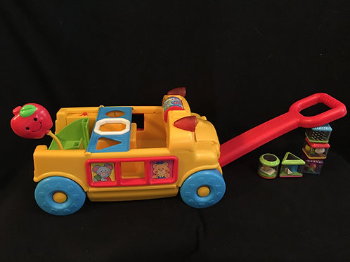 Fisher-Price Sort & Roll School Bus
