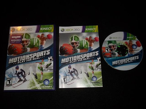 MotionSports XBOX 360/KINECT