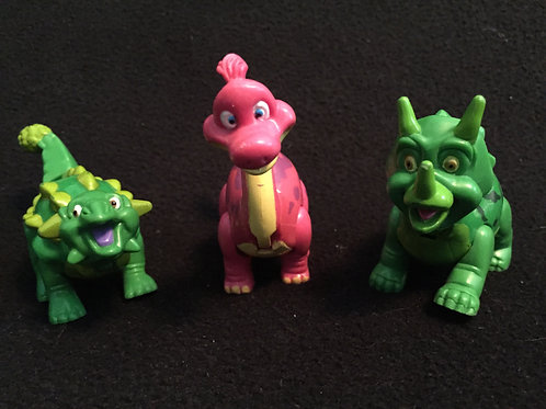Dinosaur heavy duty plastic figures 3 pack