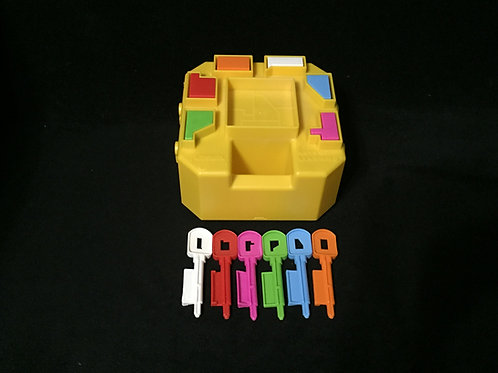 1986 Vintage Playskool Keys Of Learning Complete