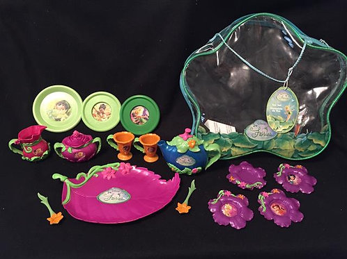 Tinkerbell and Friends dish lot