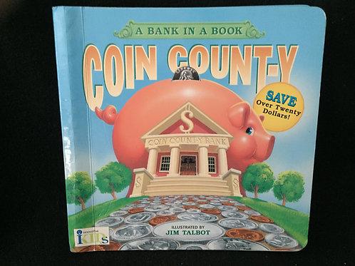 Coin County: A Bank in a Book Board book