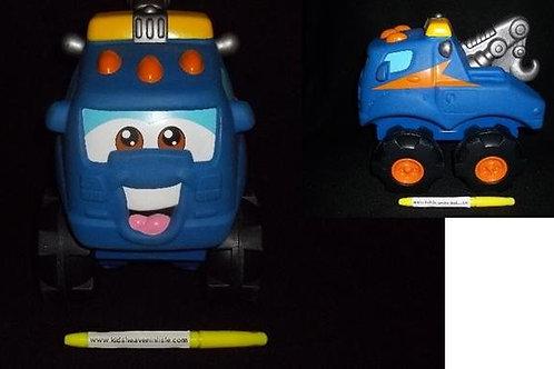 Playskool Tonka Cushy Cruisers - Blue Truck