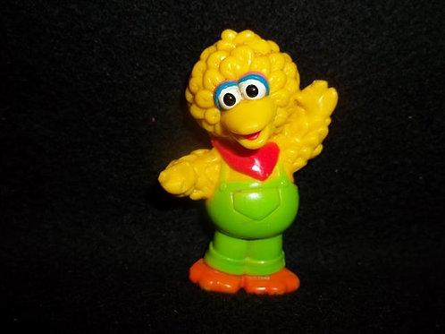 "Big Bird  2.5"" Vintage PVC Figure / cake topper"