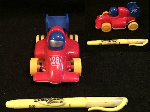 Golden Bell Pull Back Racer #28