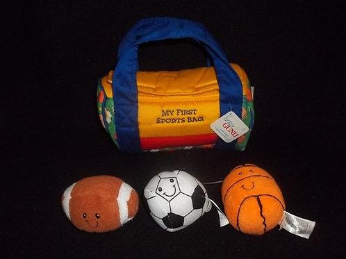 GUND My First Sports Bag Activity Set