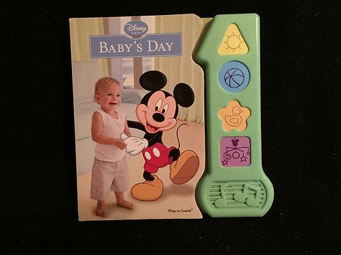 Disney Baby Baby's Day Sound Book