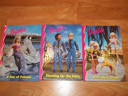 Barbie Books (3 pack) Hardcover books