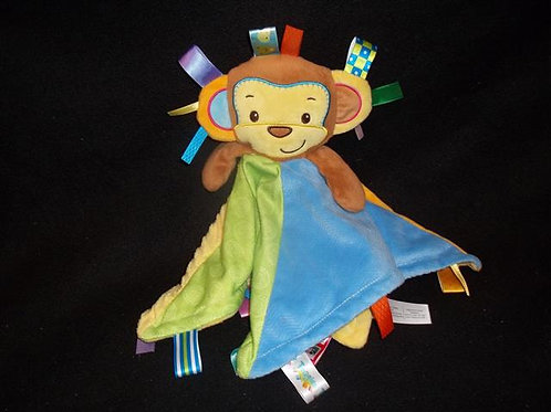 Taggies Monkey Character Blanket
