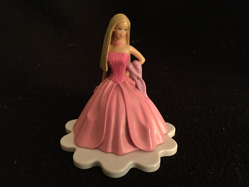 "Barbie Cake Topper 3.75"""