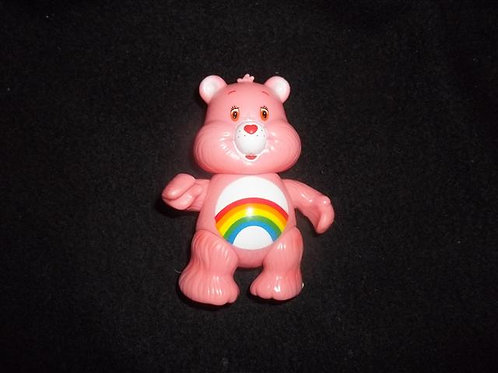 "Care Bears Cheer Bear Figure  3.5"""