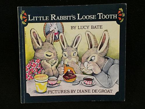 Little Rabbit's Loose Tooth-Paperback Vintage (75)