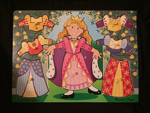 Princess Dress-Up Mix n Match Peg