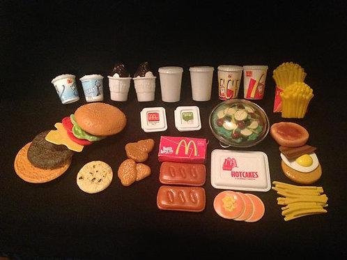 McDonalds Play food lot #1