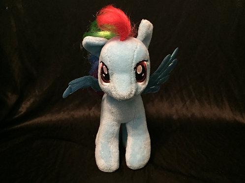 Ty Beanie Baby My Little Pony Rainbow Dash
