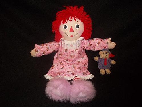 Bedtime Raggedy Ann Doll
