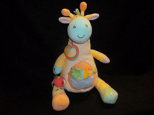 Manhattan Toy Peek-Squeak Giraffe