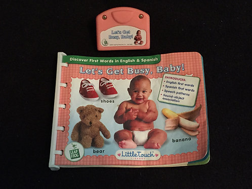 LeapFrog LittleTouch  Let's Get Busy Baby-Pink