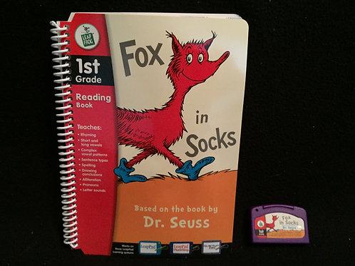 LeapFrog Leap Pad Reading book Fox in socks