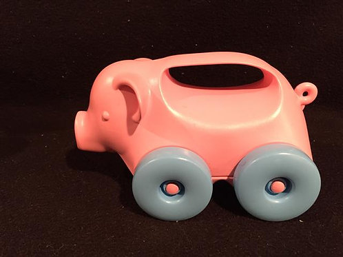 Green Toys Pig-on-Wheels Push Toy