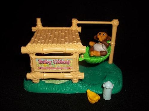 """Littlest Pet Shop ZOO """"BABY CHIMP""""1993"""