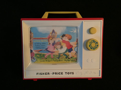 Fisher Price Classic Two Tune Television 2009