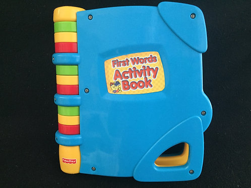 Fisher Price First Words Activity Book