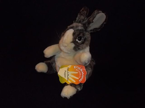 Baby Dutch Rabbit Puppet by Folkmanis *New -