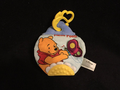 $3.00 Disney Baby Hello Pooh Cloth Book