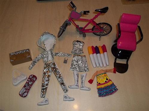 Moxie Girlz Art-titude Fashion Design Kit