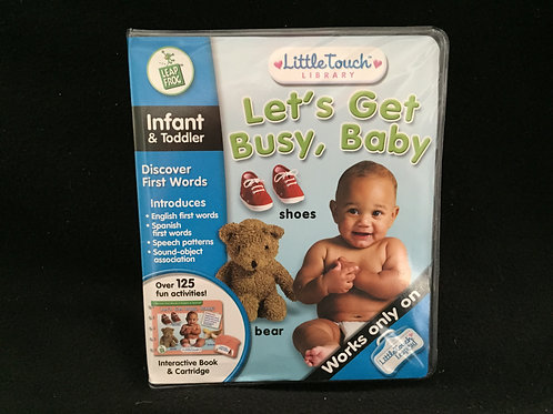 LeapFrog LittleTouch Let's Get Busy with box