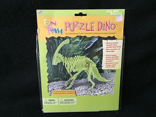 Parasaurolophus Dinosaur 3-D Foam Puzzle Kit *NEW