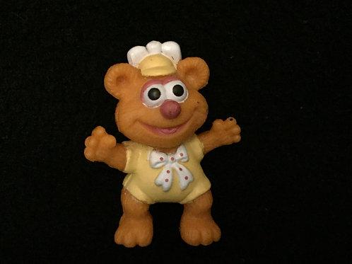 "Vintage McDonald's Muffet Babies Muppet Babies Baby Fozzy PVC Figure 2"""