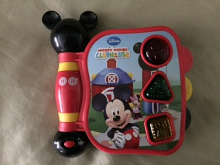 Mickey's My First Learning Book Lights and Sounds