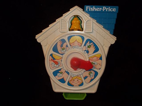 Fisher Price Wash Around Clock (1992)