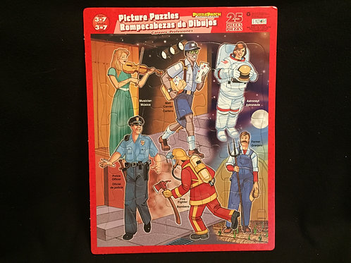 Careers Picture Puzzles 25 Piece Puzzle (ages 3 to 7)