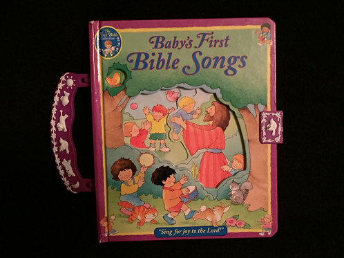Baby's First Bible Songs - Carry along book