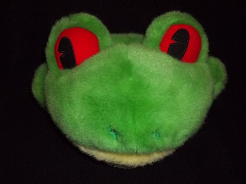 Frog Head Puppet