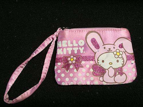 Hello Kitty Coin Purse Zippered Pouch Bag