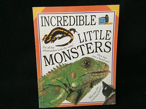 Incredible Little Monsters - Soft Cover